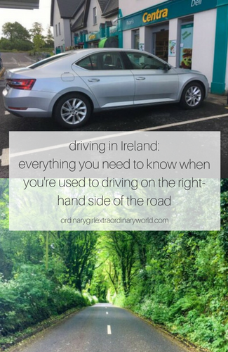 renting a car in ireland: everything you need to know when you're used to driving on the right-hand side of the road