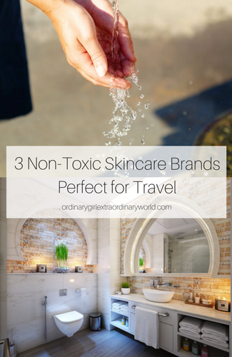 Keeping your skincare routine healthy when you're traveling doesn't have to be a pain. Check out these 3 best non-toxic skincare brands perfect for when you're traveling!