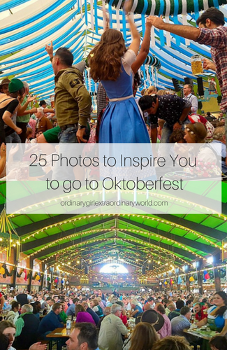 Considering going to Oktoberfest in Munich, Germany? Whether you like the outfits, want to party, or just drink the beer let these 25 photos inspire you to visit one of the world's most fun festivals!