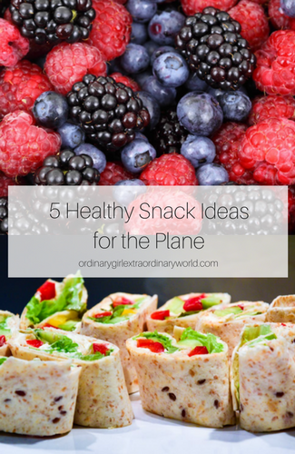 Start your vacation off on the right foot with these 5 healthy snack ideas for the plane. Healthy eating doesn't have to be tough when you're traveling!
