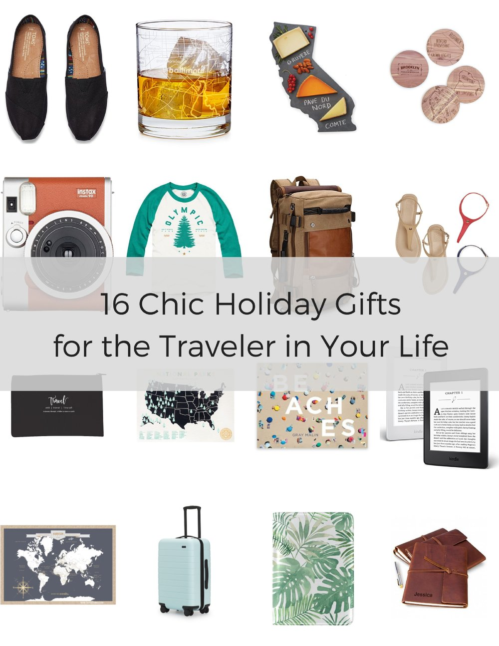 Looking for chic and stylish travel gift ideas for women this holiday season? We've got you covered with our holiday gift guide!
