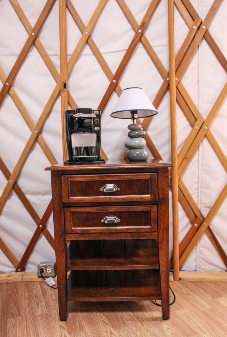 Looking for a unique glamping idea? Yurt living is a great option for your next camping experience!
