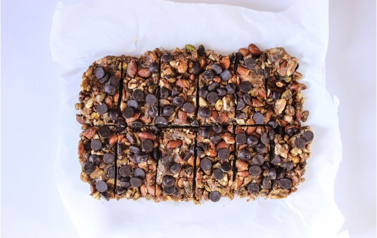 Sugar-free granola bars