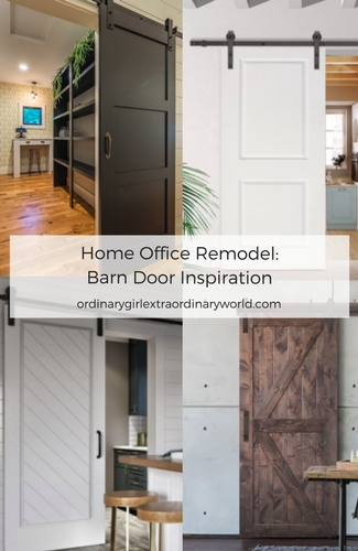 Home Office Remodel_ Barn Door Inspiration