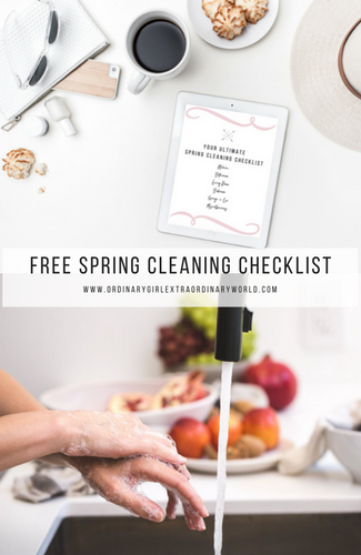 Free Printable - Spring Cleaning Checklist