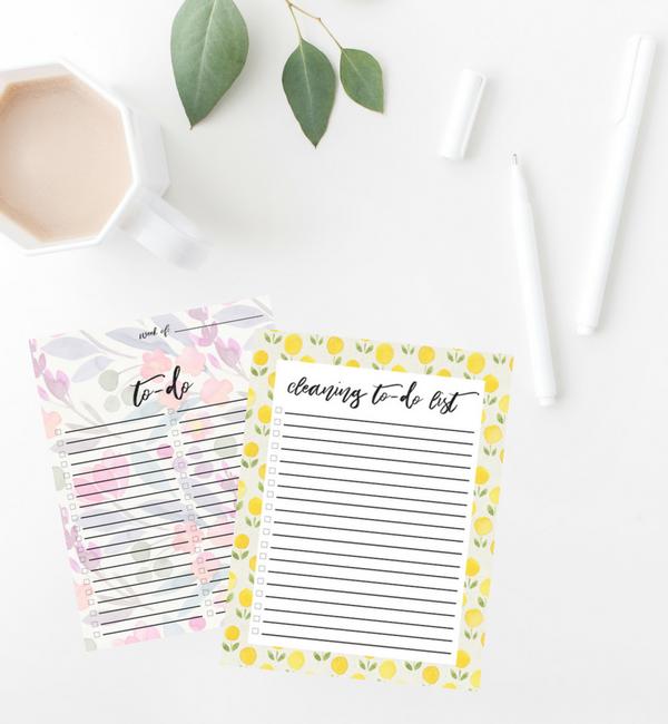 Free Printable: To-Do List Checklists