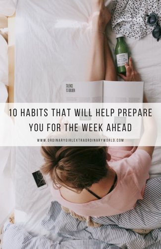 10 Sunday Habits That Will Help Prepare You for the Week Ahead