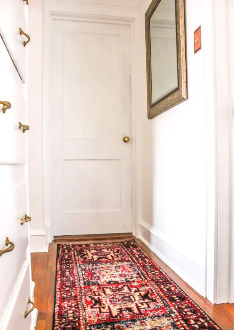 Home remodel: My hallway before and after makeover