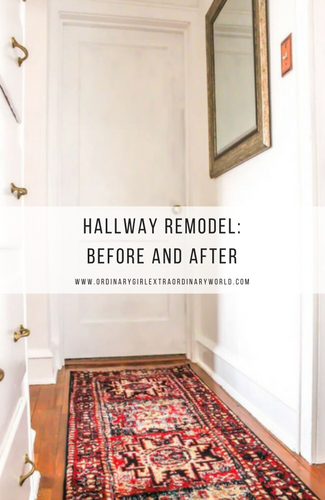 Hallway Home Remodel: Before and After