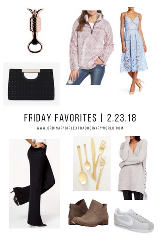 Friday Favorites in home, style, fashion, shoes and decor