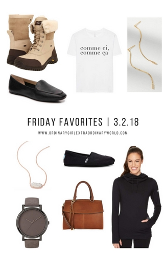Friday Favorites in fashion, home, style and decor