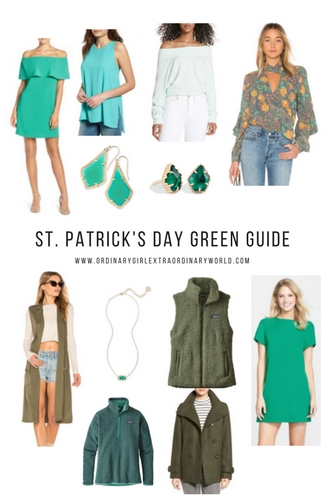 Holiday Guide: Green Clothes & Accessories for St. Patrick's Day