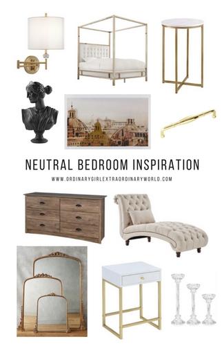 Natural Bedroom Inspiration
