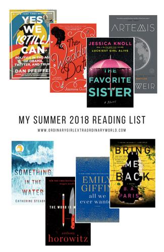 Summer 2018 Reading List