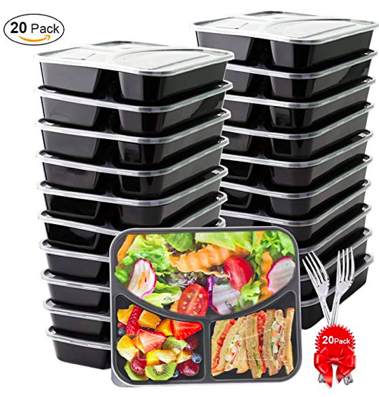 Amazon Prime Day Shopping: Meal Prep Bento Box Containers