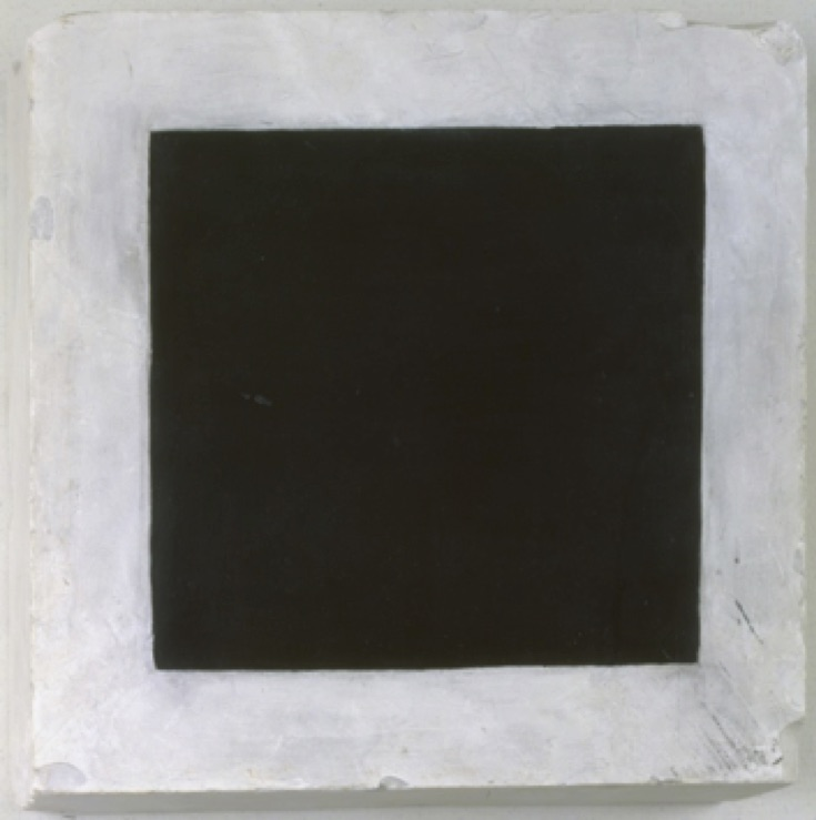 Kazimir Malevich, Black Square. c. 1923-1930. Oil on plaster.