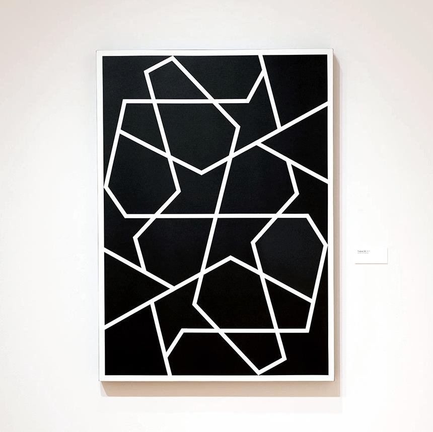 Topkapi XXIV   2013. Acrylic on canvas. 60 x 43 in., 152.4 x 109.2 cm.