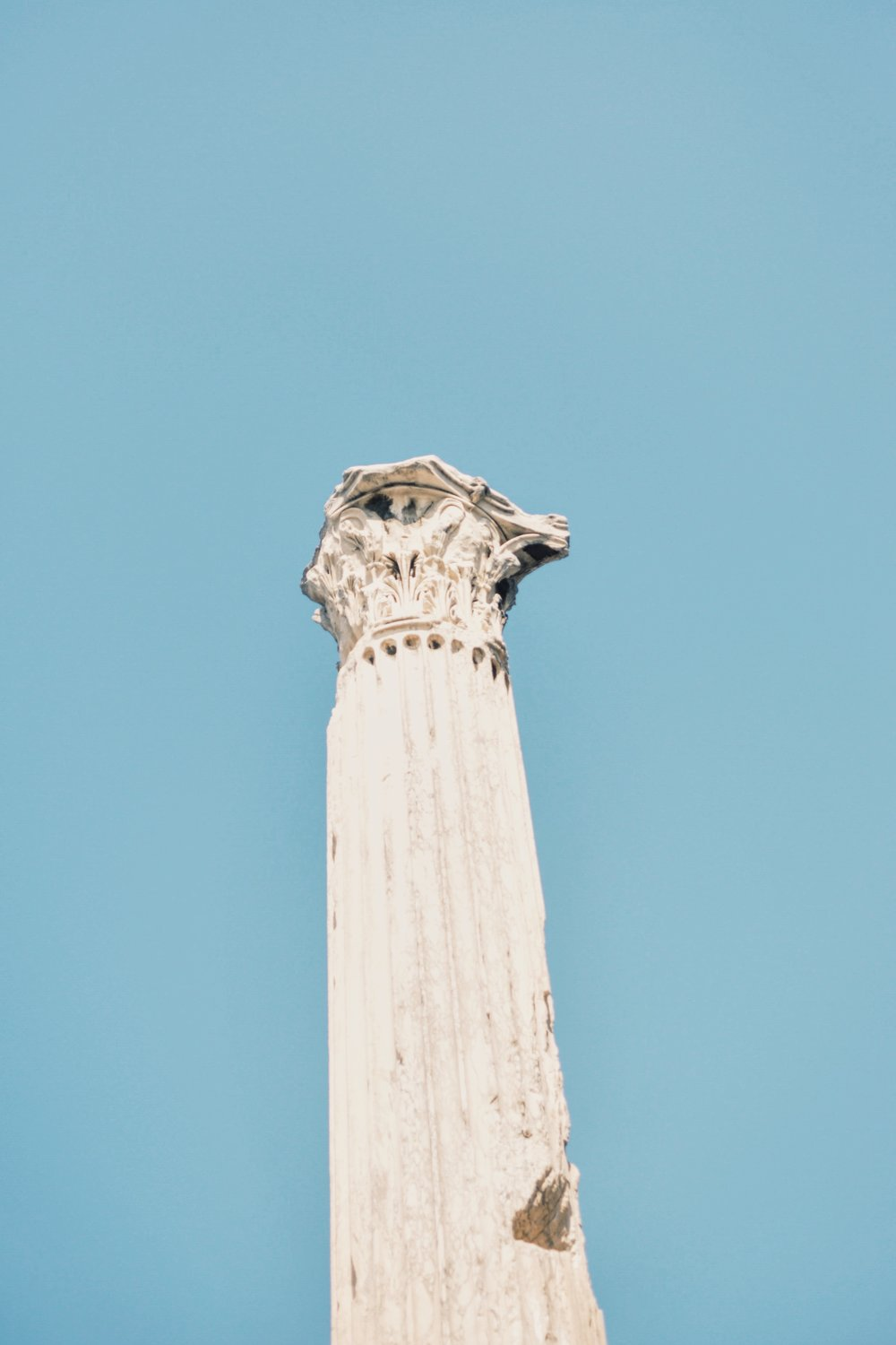 Column from Hadrian's Library in Athens