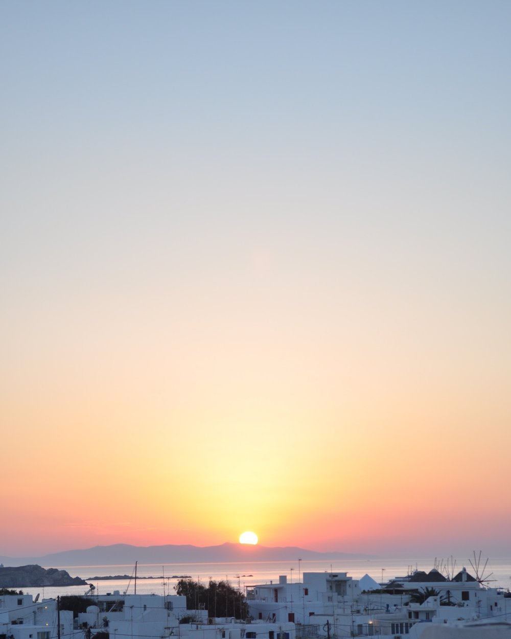 Mykonos Sunset