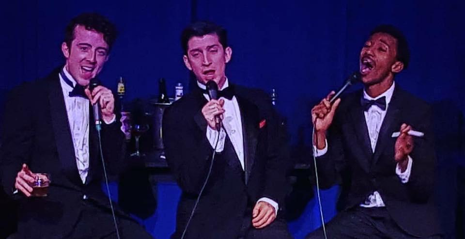 Rat Pack In Love at Interlakes Theatre  Frank Sinatra - Tony DI Meglio  Sammy Davis Junior - Solomon Kee  Dean Martin - Carter Ellis