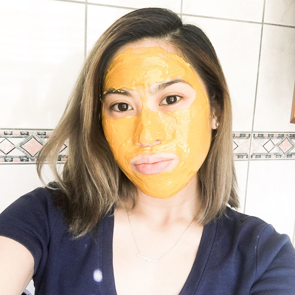 DIY Turmeric Honey Yogurt mask