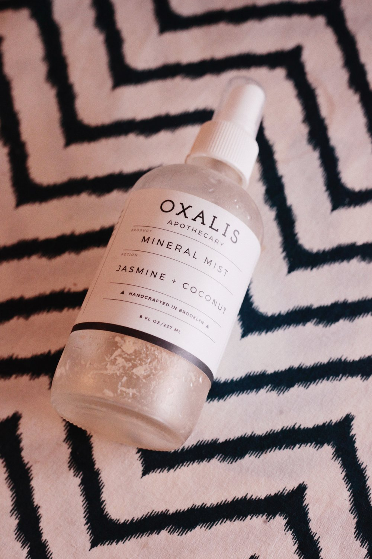 Oxalis Jasmine + Coconut Mineral Mist
