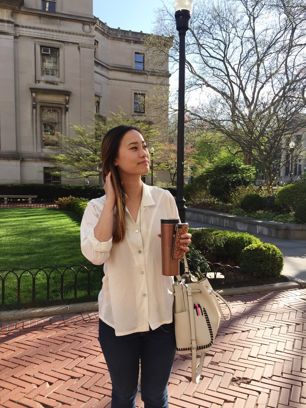 Michelle at Columbia University