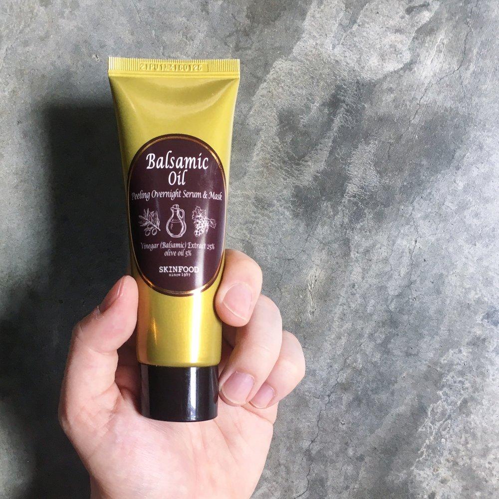 Skinfood Balsamic Oil Peeling Overnight Serum & Mask.jpg