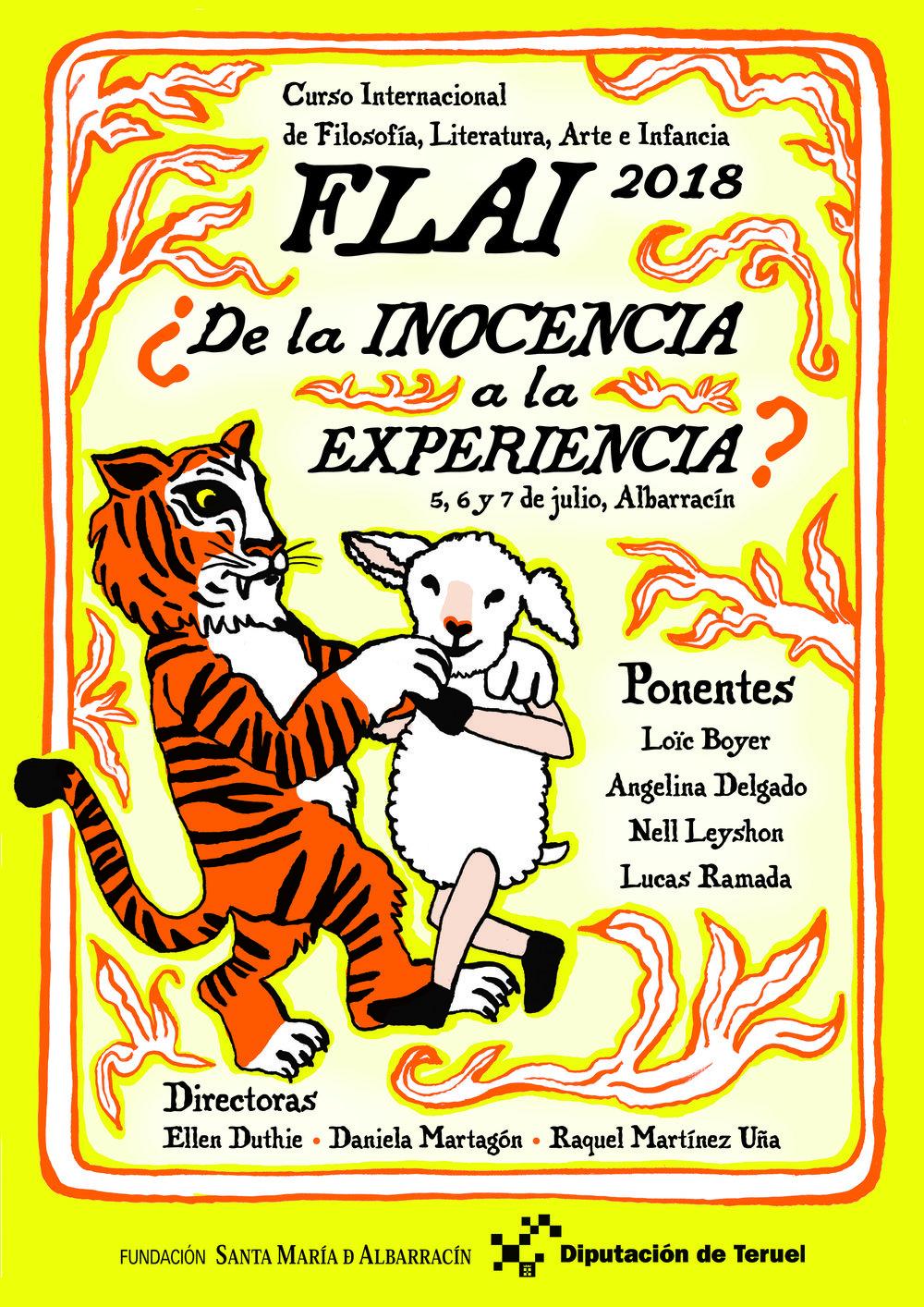 Cartel ilustrado y diseñado por Daniela Martagón.
