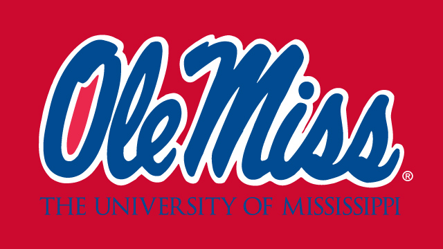 University of Mississippi            Football Team