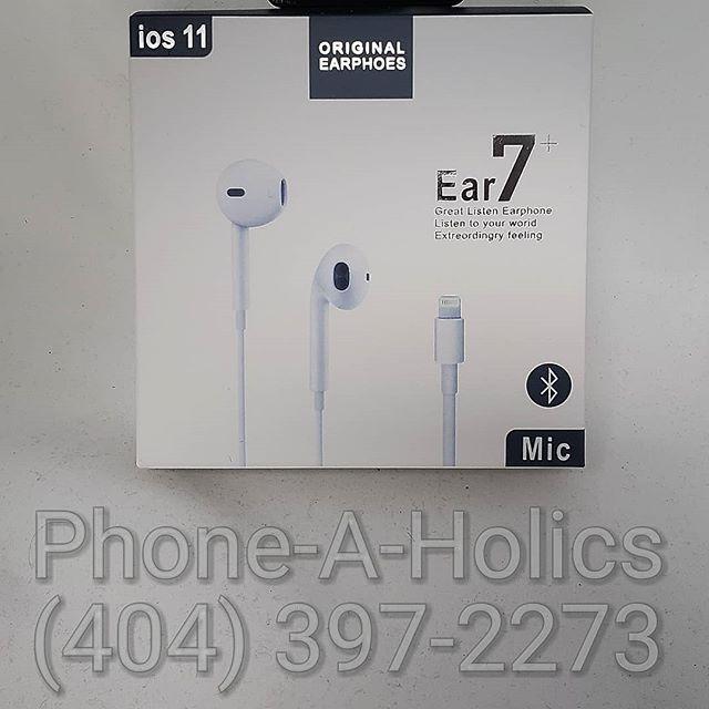 iPhone 7 headphones #apple #iphones #norcross #atlanta #georgia #phoneaholics
