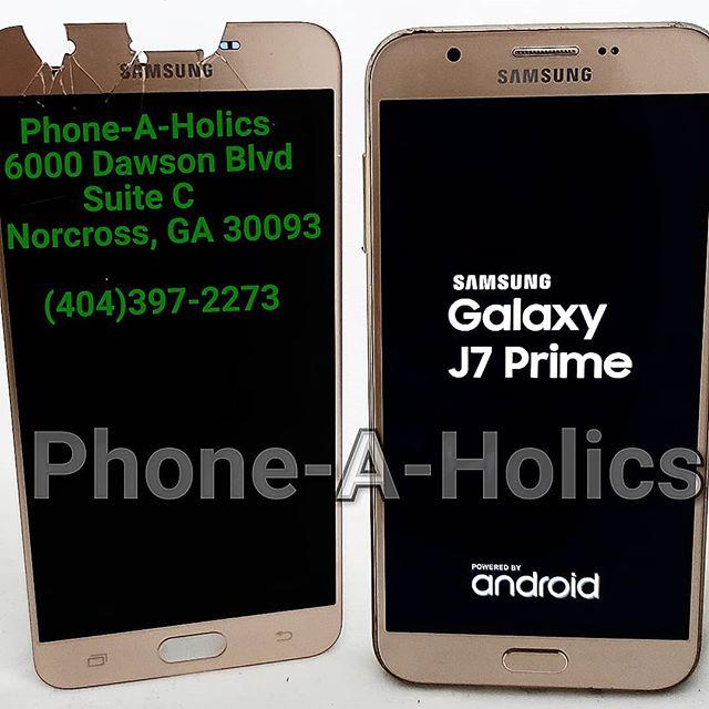 Samsung J7 Prime J727 Screen Replacement #samsung #samsungrepair #apple #applescreenrepairs #atl #atlanta #norcross #norcrossga #jimmycarter #phonerepairs #phoneaholics #samedayservice
