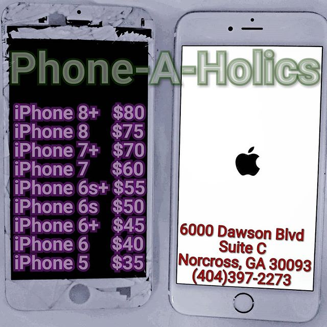 Cell Phone and Tablet Repairs #phonerepair #apple #iphone #Samsung #LG #Motorola #ZTE #norcross #jimmycarter #atlanta #atl #phoneaholics