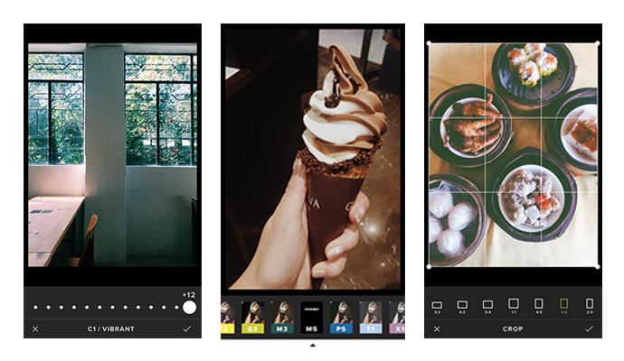The VSCO app (previously known as VSCO Cam) is a powerful all-in one camera, editing and photo sharing app, The camera includes advanced manual controls, and the photo editor has a wide selection of elegant film-like filters and essential adjustment tools.