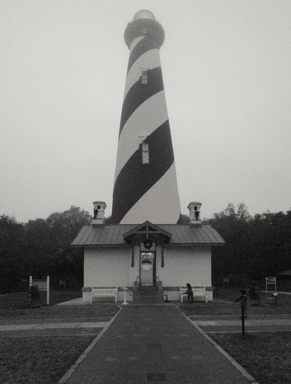 St.Augustine Light House Museum, St.Augustine Florida - Iphone 7s - VSCO film grade