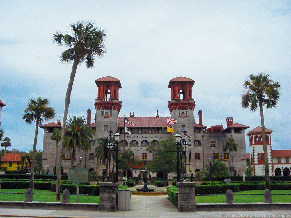 The Lightner Museum is a museum of antiquities, mostly American Gilded Age pieces, housed within the historic Hotel Alcazar building in downtown St. Augustine - By Wiki Commons