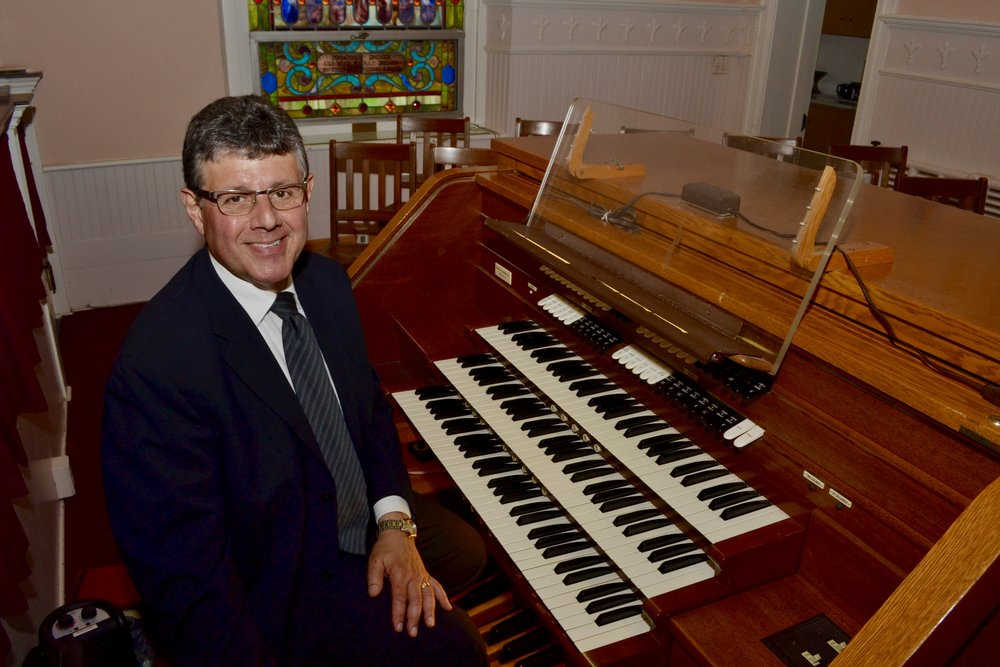Organist and Pianist, Michael Capone has sat at the organ bench of our 24 rank pipe organ since 2002. A graduate of West Chester University with a bachelors degree, Mike also has earned a masters degree from the University of Scranton. Mike is retired from Pocono Mountain School District where he was a choral director.