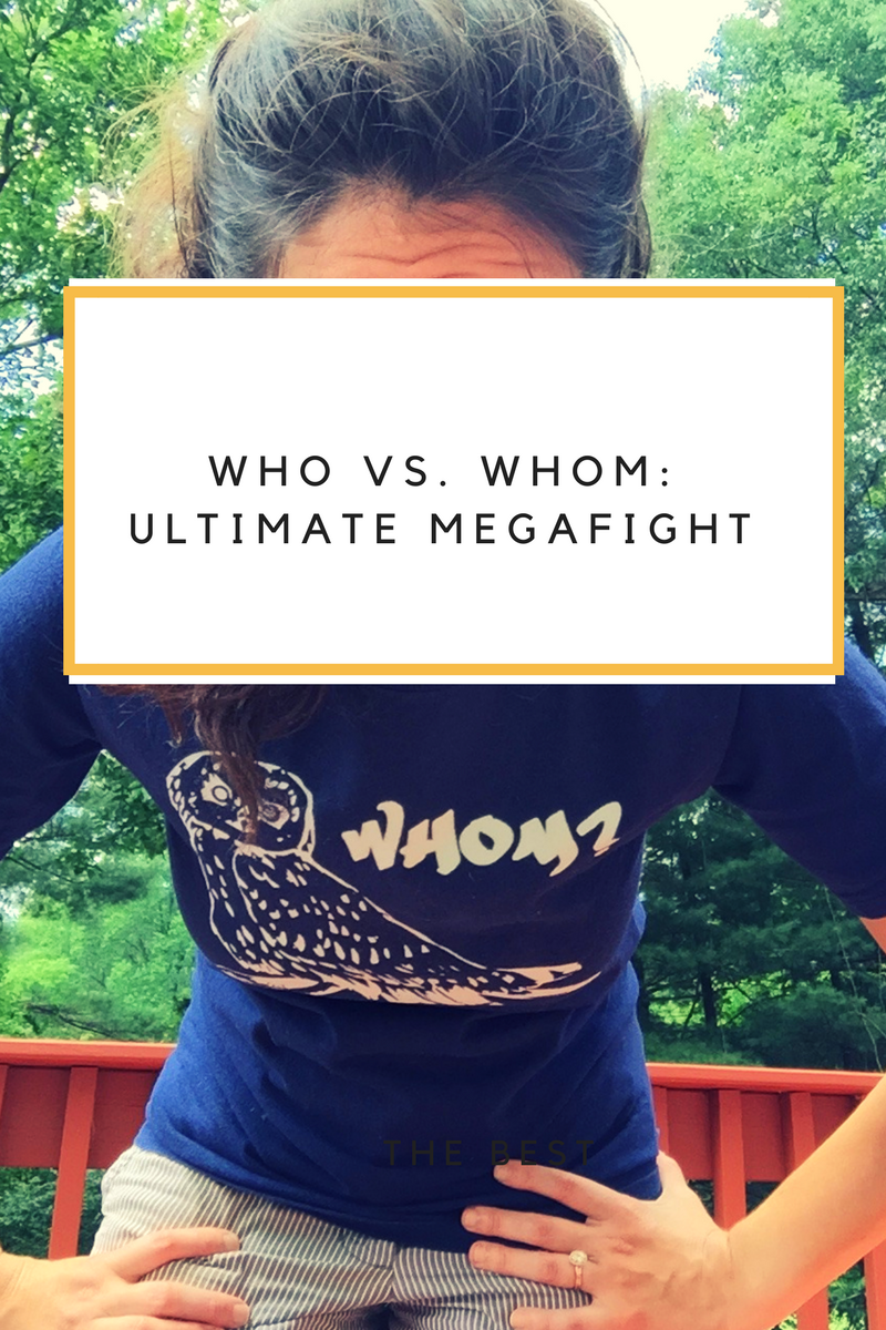 Who vs. Whom