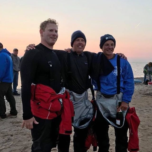 Congratulations to our friends Joe, Jeff & Kwin with @standupforgreatlakes for completing their 60+ mile paddle across Lake Superior! We are still supporting this charity by selling their coffee at Espresso Bay and on TCRoastingCo.com ☕️🏄‍♂️ #standupforgreatlakes #theseguysarelegit #tcroastingco #partnernonprofit #lakesuperior #michiganawesome #northernmichigan