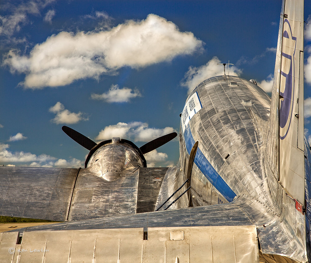 The iconic DC-3. I took a ride in it with my brother. AWESOME!