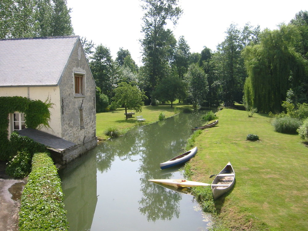 Our new mill is based in the Champagne Region of France - tres beau!