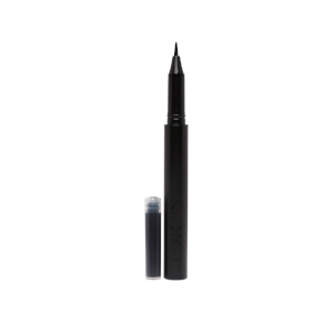 AUTO-GRAPHIQUE EYELINER $42.00   A refillable liquid eyeliner with a Japanese calligraphy-inspired brush tip for drawing precise, long-lasting cat eyes. The calligraphy-style brush precisely lines your eyes. The smooth, sumi ink-inspired formula is buildable and non-pilling, for artful lines with an enduring finish. Like a calligraphy pen, this well-constructed brush is designed to outlast the ink cartridge inside. This liquid liner performs best when layered over eyeshadow.