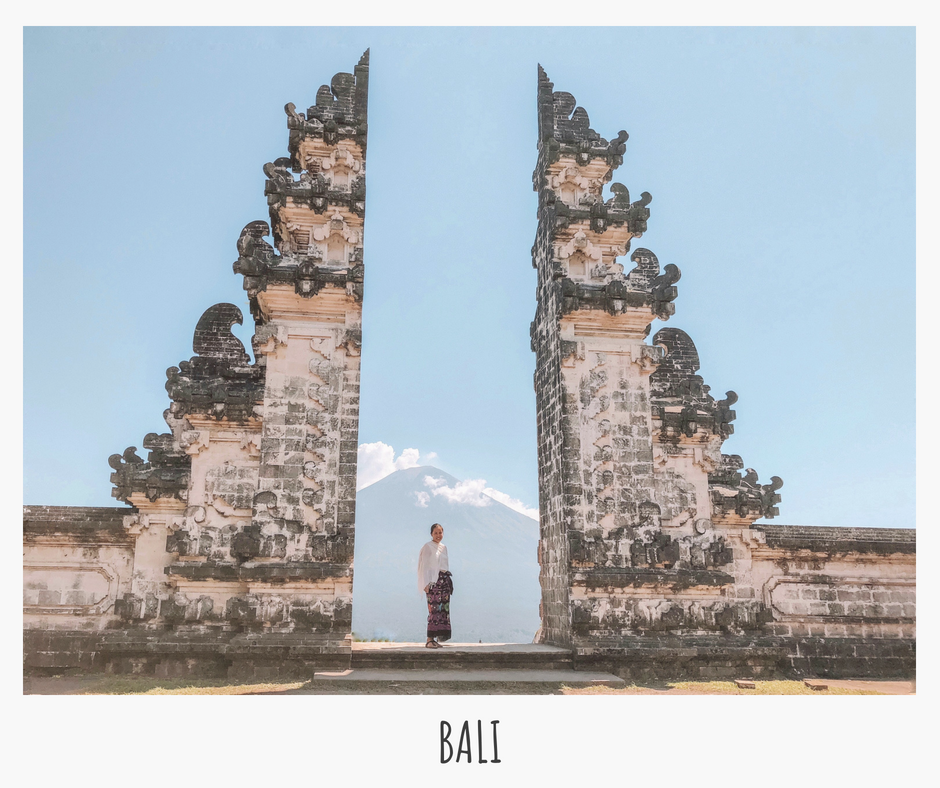 So in love with Bali's traditional architecture, lush rice fields, surf spots, sunsets, yoga classes, and the warm Balinese people!