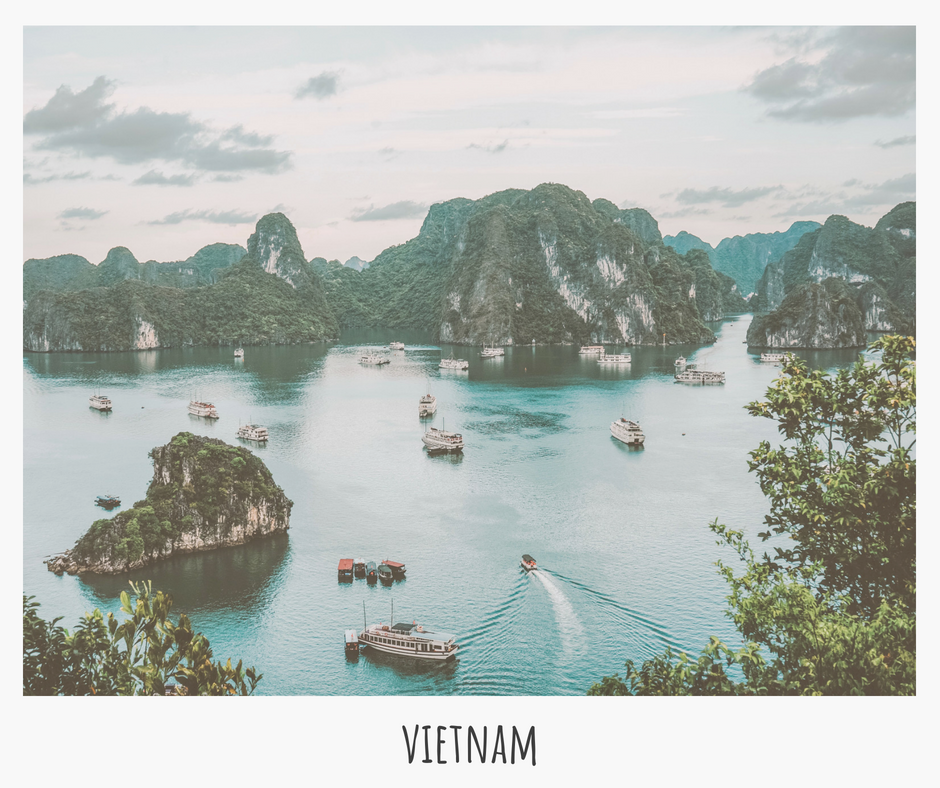 Experience Vietnam's hustle & bustle, explore ancient landmarks & colonial structures, and indulge in Vietnamese coffee & pho! ;)
