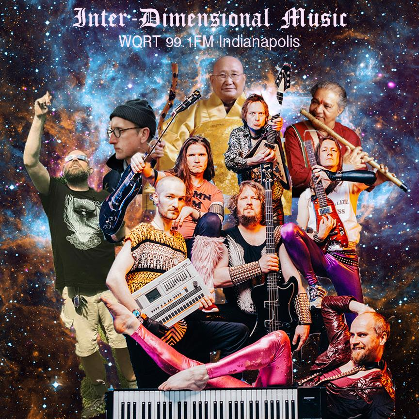 Inter-Dimensional Music by Daniel Chamberlin - Fri at noon + Mon at 8pmID Music is heavy music for mellow people that travels from yin to yang and back again. Dig psychedelic dirges and long-form heavy metal combos with Cosmic Chambo.