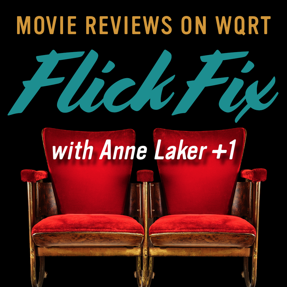 Flick Fixby Anne Laker - Some Fridays at 11:30amYou know you need it. Get your flick fix with Anne Laker and guests as they muse on movies new and old.