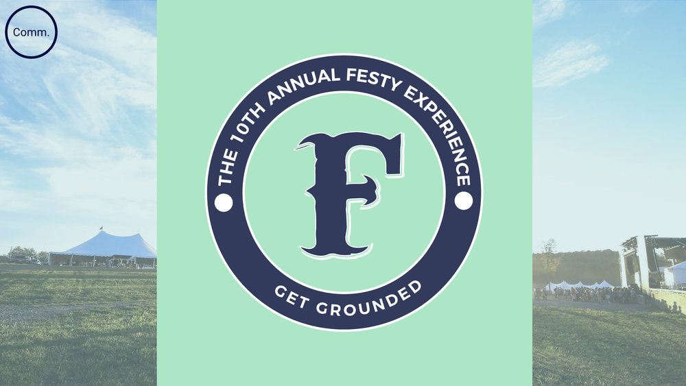 "The logo was updated to present the Festy ""F"" as a badge where copy can be added to the ring surrounding it. This makes the logo more versatile for future Festy brand or product extensions."