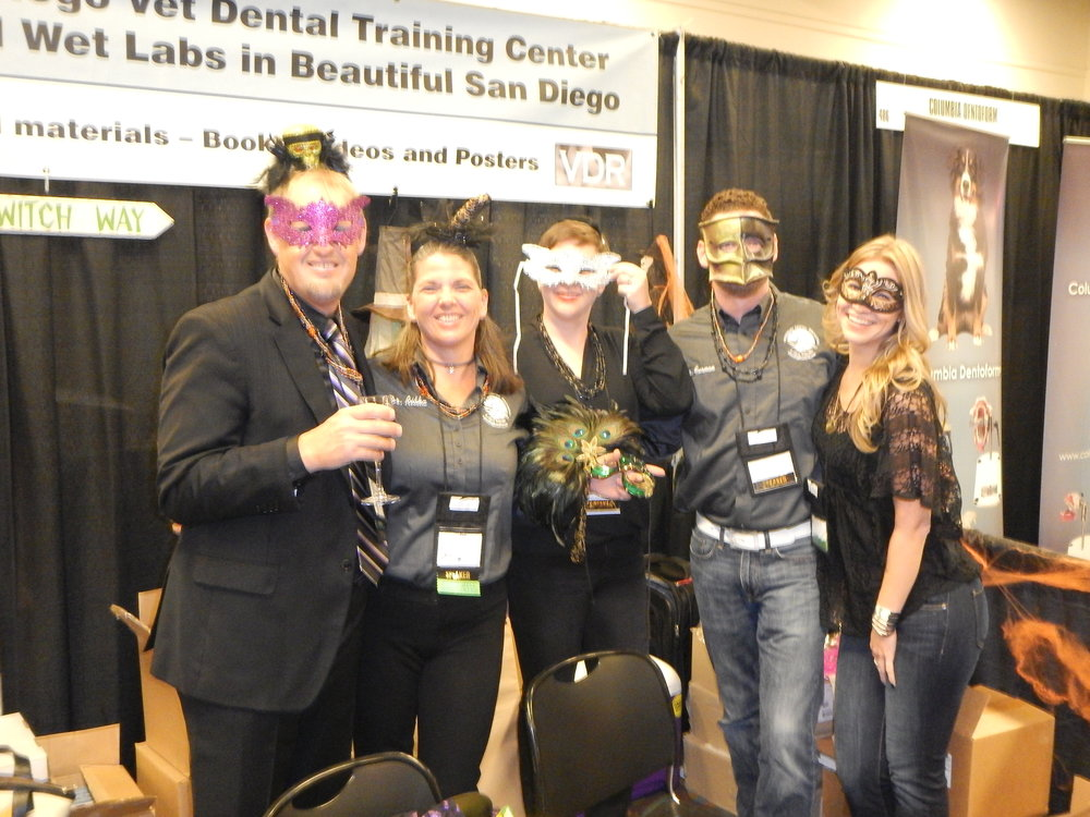 VDF Monterey, CA - Exhibit Hall on Halloween, 2015