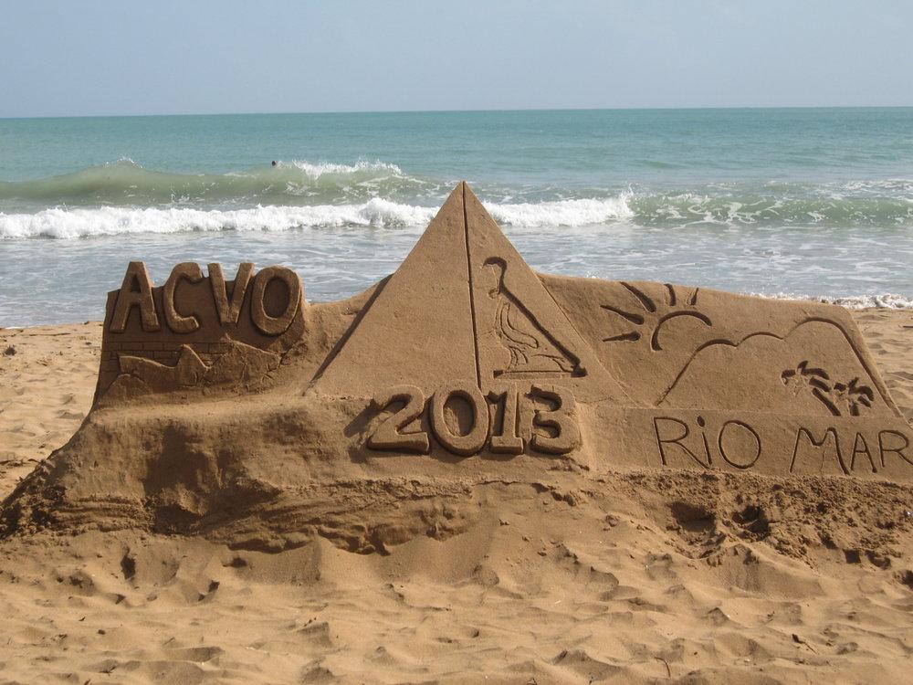 ACVO Puerto Rico - Sand Castle, 2013
