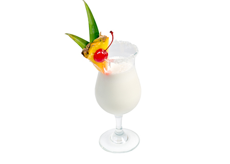 Pina Colada   Brown sugared grilled pineapple & shredded coconut, blended in a coconut/whole milk vanilla bean base.   (NF, GF)